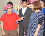 プロレス団体「WRESTLE-1」のファン感謝デーイベント発表会見の模様 (C)ORICON NewS inc.