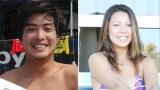 (左から)大橋海人選手、水野亜彩子選手