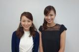 『おはようコールABC』に新加入する元MBSの斎藤裕美アナウンサー(左)はMCの斎藤真美アナ(右)の姉。姉妹でテレビ番組初共演(C)ABC