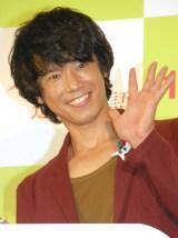 映画『パパが遺した物語』公開記念イベントに出席した品川庄司の庄司智春 (C)ORICON NewS inc.