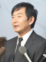川島なお美さんの通夜に参列した石田純一 (C)ORICON NewS inc.