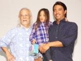 親子三代でイベントに参加した(左から)マイク眞木、真木勇人さん、真木りりかちゃん (C)ORICON NewS inc.