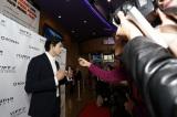 現地媒体のインタビュー取材に応じた東出昌大=『バンクーバー国際映画祭』