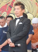 山岸一雄さんへの黙祷を行った勝俣州和