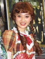 舞台『ダブリンの鐘つきカビ人間』でヒロインを演じる東京パフォーマンスドールの上西星来 (C)ORICON NewS inc.