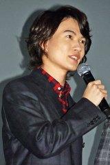 映画『バクマン。』初日舞台あいさつに出席した神木隆之介(C)ORICON NewS inc.