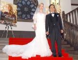 映画『アデライン、100年目の恋』公開直前イベントに出席した(左から)ローレン・マイコラス、ルー大柴 (C)ORICON NewS inc.