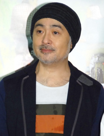 NHKドラマ『ガッタン ガッタン それでもゴー』の完成試写会に出席した松尾スズキ (C)ORICON NewS inc.
