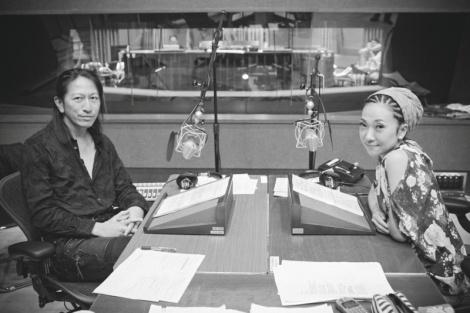 MISIAがGLAY TAKUROとラジオ共演