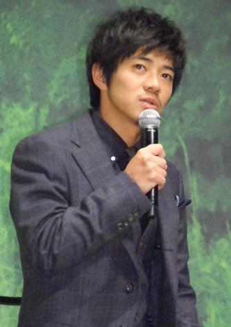 映画『起終点駅 ターミナル』の完成披露会見に出席した和田正人
