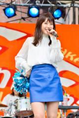 LAGOON初の学園祭ライブで7曲を歌ったMIORIこと瀧本美織 撮影:河上良