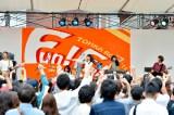 初の学園祭ライブを行ったLAGOON 撮影:河上良