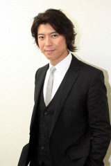 ドラマ『エンジェル・ハート』で冴羽リョウを演じる上川隆也 (C)ORICON NewS inc.