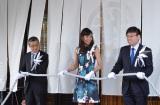 リモデルグランドオープンした三越銀座店記念セレモニーに出席したモデルでタレントの前田典子 (C)oricon ME inc.
