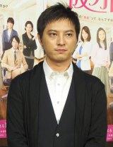 ドラマ『仮カレ』の試写会に出席した塚本高史 (C)ORICON NewS inc.