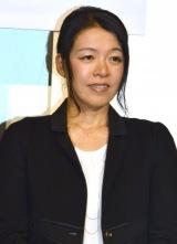 映画『レインツリーの国』の完成披露舞台あいさつに登壇した有川浩 (C)ORICON NewS inc.