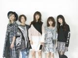 17歳の女子高生ギタリスト・AMI(左から2人目)が新加入したLAGOON