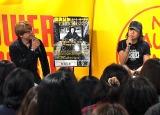盟友・野村義男(左)とともにアルバム制作秘話を語った世良公則
