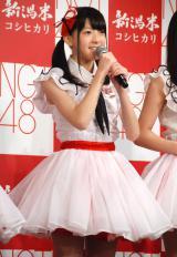 JA『新潟米×NGT48 新米収穫発表会』に出席したNGT48・菅原りこ (C)ORICON NewS inc.