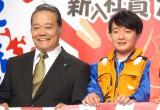 西田敏行(左)からの褒め言葉に感激していた濱田岳(右)(C)ORICON NewS inc.