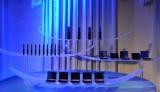 21日、都内で行われた女性限定完全招待制イベント「ヴェネチアン マスカレード ナイト」では資生堂クレ・ド・ポー・ボーテのホリデーシーズン限定コレクションの展示も (C)oricon ME inc.