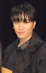 道明寺司を演じる松下優也=ミュージカル『花より男子 The Musical』製作発表記者会見 (C)ORICON NewS inc.