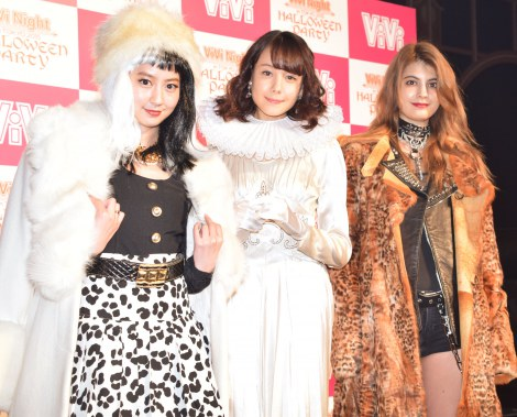 �wViVi Night in TOKYO 2015�`HALLOWEEN PARTY�`�x�O�̈͂ݎ�ނɏo�Ȃ����i������j�͖k���F�q�A�g�����h����ށA�}�M�[ �iC�jORICON NewS inc.