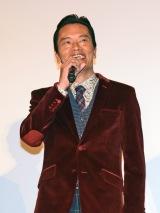 都内で行われた映画『ギャラクシー街道』初日舞台あいさつに登壇した遠藤憲一 (C)ORICON NewS inc.
