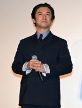 都内で行われた映画『ギャラクシー街道』初日舞台あいさつに登壇した石丸幹二(C)ORICON NewS inc.