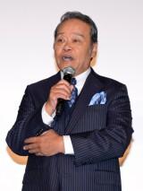 都内で行われた映画『ギャラクシー街道』初日舞台あいさつに登壇した西田敏行(C)ORICON NewS inc.