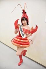 """日本海老協会""""公認""""の海老好きでもあるAKB48の岩佐美咲"""
