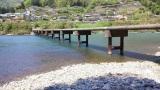 トリップアドバイザーがユーザーの声をもとに実施した「口コミで選ぶ日本の橋ランキング」17位の岩間沈下橋(高知県)