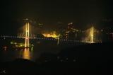 トリップアドバイザーがユーザーの声をもとに実施した「口コミで選ぶ日本の橋ランキング」19位のながさき女神大橋 (長崎県)