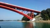 トリップアドバイザーがユーザーの声をもとに実施した「口コミで選ぶ日本の橋ランキング」20位の天草五橋(熊本県)