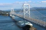 トリップアドバイザーがユーザーの声をもとに実施した「口コミで選ぶ日本の橋ランキング」23位の大鳴門橋(徳島県)