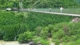 トリップアドバイザーがユーザーの声をもとに実施した「口コミで選ぶ日本の橋ランキング」24位の谷瀬の吊り橋(奈良県)