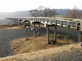 トリップアドバイザーがユーザーの声をもとに実施した「口コミで選ぶ日本の橋ランキング」25位の蓬莱橋(静岡県)