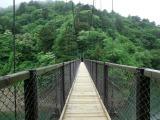 トリップアドバイザーがユーザーの声をもとに実施した「口コミで選ぶ日本の橋ランキング」27位の回顧の吊橋(栃木県)