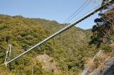 トリップアドバイザーがユーザーの声をもとに実施した「口コミで選ぶ日本の橋ランキング」28位の綾の照葉大吊橋(宮崎県)