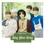 SHINeeのニューシングル「Sing Your Song」通常盤