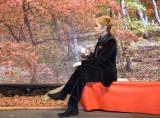 『ネスカフェ 香味焙煎 旬めぐりカフェ』開始発表イベントに出席したGACKT (C)ORICON NewS inc.