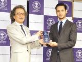『第1回 ベストアロマニストアワード』でメンズ賞を受賞したリヒト (C)ORICON NewS inc.