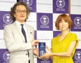 『第1回 ベストアロマニストアワード』でハンサムウーマン賞を受賞したhitomi (C)ORICON NewS inc.