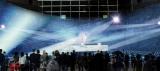 横浜ランドマークタワーのドックヤード・プロジェクションマッピング(イメージ写真)