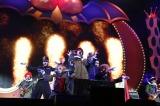 『日テレ HALLOWEEN LIVE 2015』夜公演でSHOWA NO OWARIとして登場した氣志團(撮影:山内洋枝)