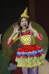 『佐々木彩夏演出 ももクロ親子祭り2015』より玉井詩織 Photo by HAJIME KAMIIISAKA+Z