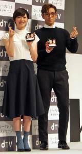 (左から)『シークレット・メッセージ』会員限定プレミアムイベントに出席した上野樹里、BIGBANGのT.O.Pことチェ・スンヒョン (C)ORICON NewS inc.