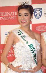 『2015 ミス・インターナショナル世界大会』4位に輝いたベトナム代表のファム・ホン・チュイバンさん(22) (C)ORICON NewS inc.