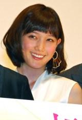 映画『起終点駅 ターミナル』初日舞台あいさつに登壇した本田翼 (C)ORICON NewS inc.