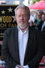 ハリウッドの殿堂入りを果たしたリドリー・スコット監督 (C) 2015 Twentieth Century Fox Film Corporation. All Rights Reserved